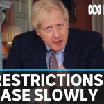 British PM announces easing of coronavirus lockdown restrictions but faces backlash | ABC News