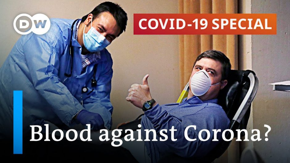 Fighting coronavirus with blood   COVID-19 Special