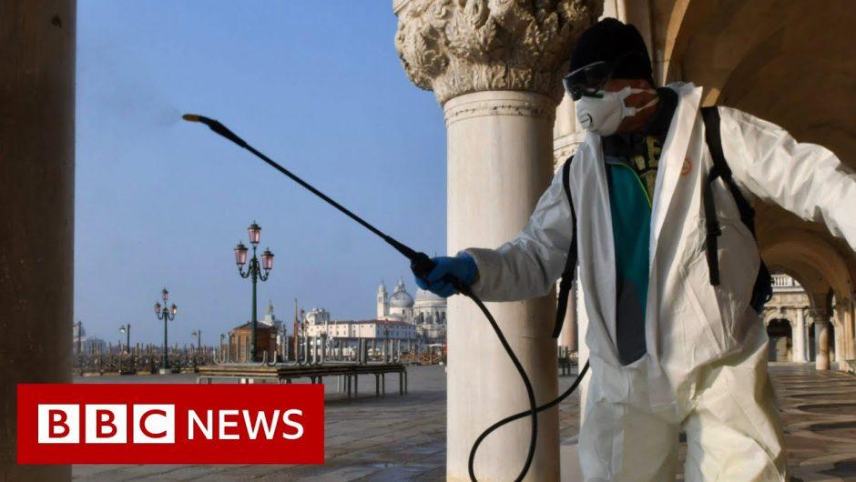 Coronavirus: Virus cases rise rapidly in Europe and US – BBC News