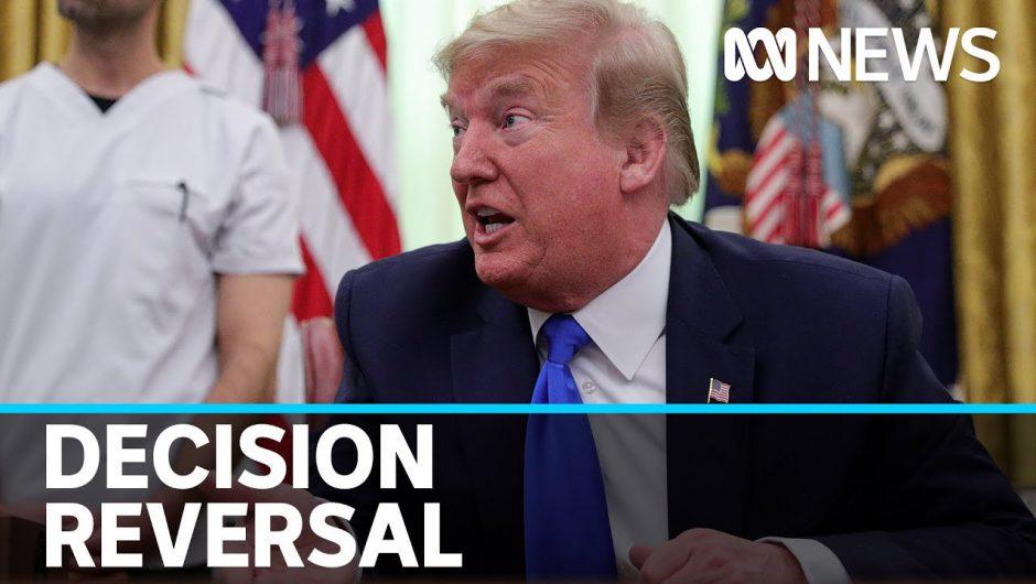Trump reverses decision to wind up coronavirus taskforce | ABC News