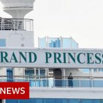Coronavirus: Cruise ship Grand Princess docks in California – BBC News