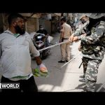 Coronavirus: Indian police labelled 'criminal, brutal force'
