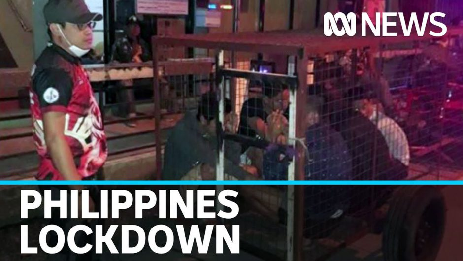 Life in the Philippines amid one of the world's toughest coronavirus lockdowns | ABC News