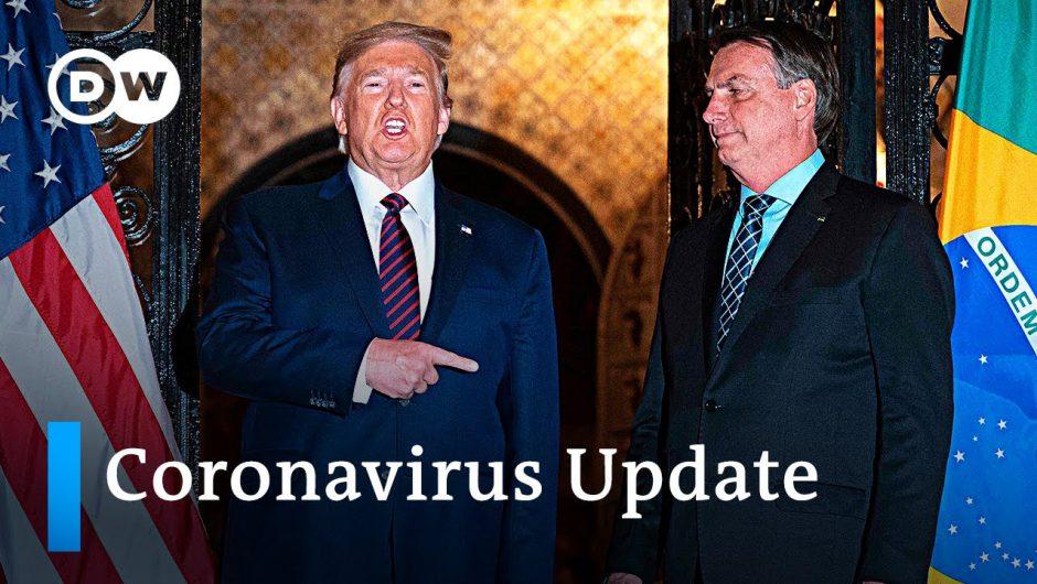 US imposes travel ban on Brazil +++ Spain eases restrictions | Coronavirus Update
