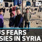 Australians in a Syrian detention camp fear coronavirus outbreak | ABC News