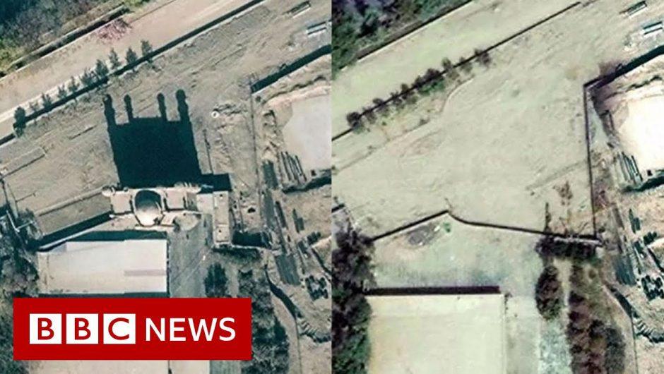 China's vanishing mosques – BBC News