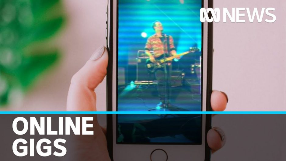 Amid coronavirus restrictions, would you pay to see a gig on your phone? | ABC News