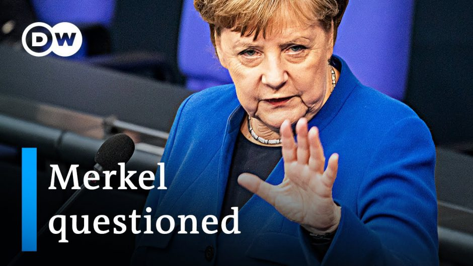 Merkel questioned about coronavirus response | DW News