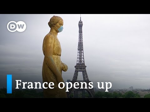 Macron eases France's eight-week coronavirus lockdown | DW News
