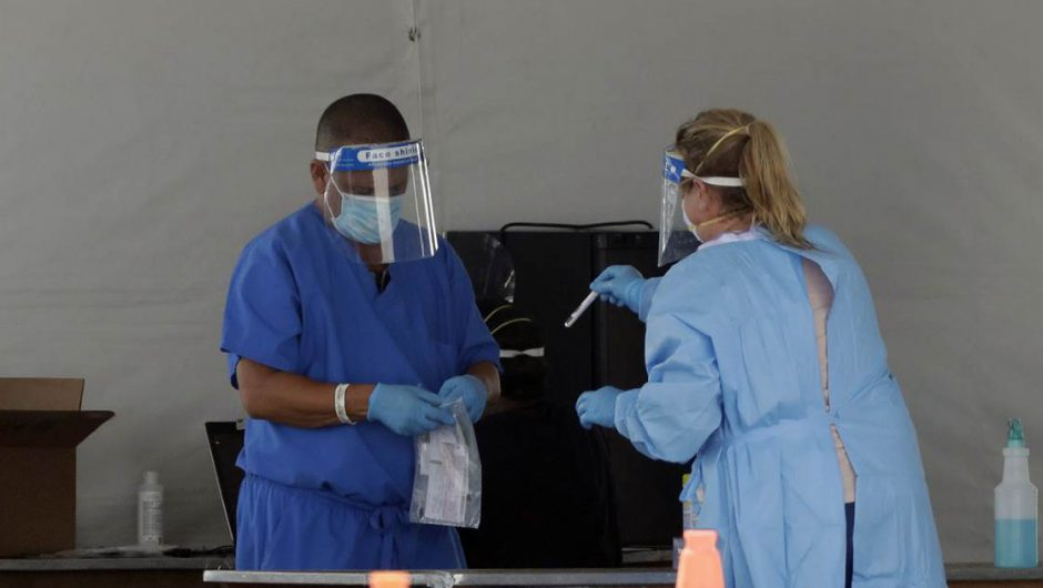 New U.S. coronavirus cases break record; Pence cancels campaign events in Arizona, Florida