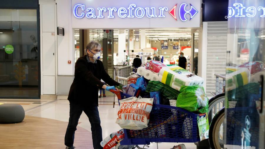 Coronavirus latest: French consumers splash out again on cars, shoes and furniture
