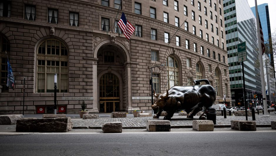 Dow holds gains at midday as Wall Street focuses on easing coronavirus lockdowns amid civil unrest
