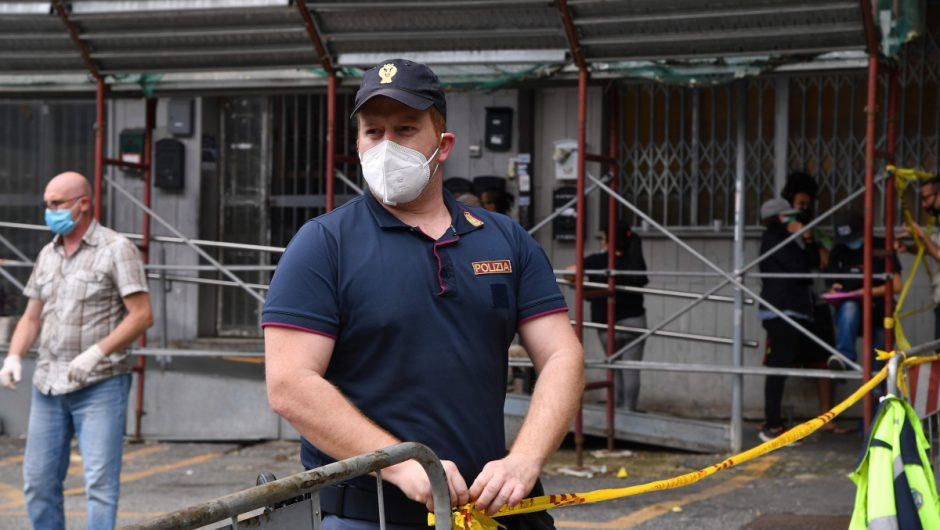 New coronavirus lockdown in Rome raises second wave fears as building cordoned off and death toll jumps again by 78