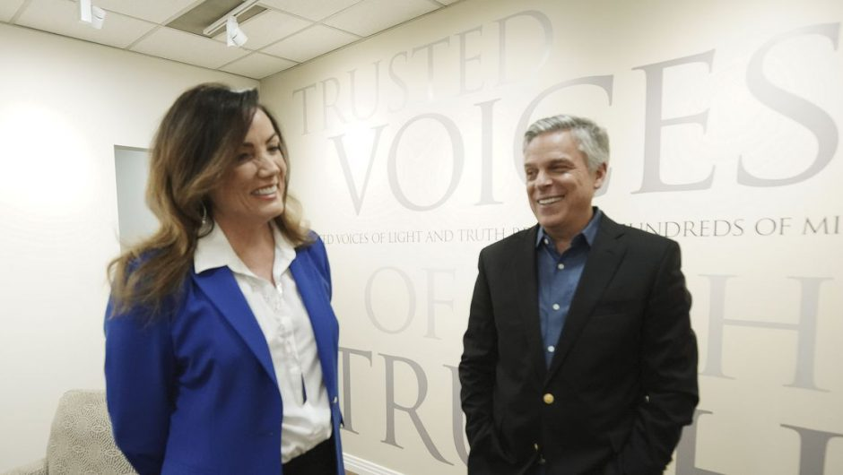 Huntsman now has to retake COVID-19 test after initially getting 'wrong results'