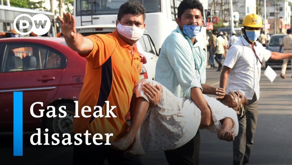 Deadly gas leak accident at India chemical plant   DW News