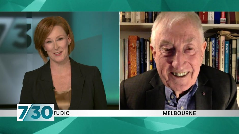 Peter Doherty says it is 'quite possible' a coronavirus vaccine will be rolled out next year | 7.30