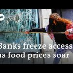 Protests in Lebanon turn violent as economy crumbles under lockdown   DW News