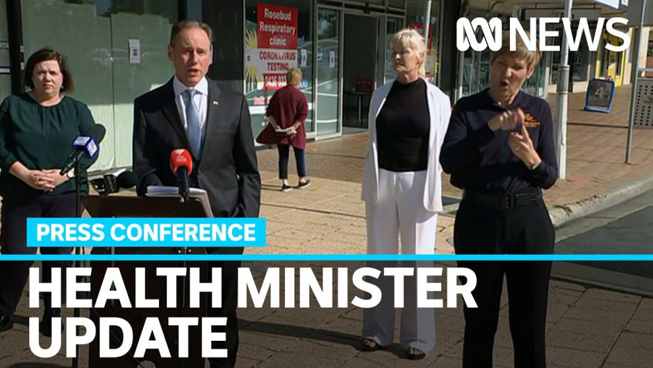 Hunt says case numbers show COVID-19 curve is being consolidated | ABC News