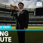 Last Post played at empty MCG as coronavirus pandemic prevents traditional AFL game   ABC News