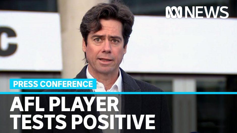 AFL confirms Essendon's Conor McKenna positive for coronavirus, Bombers game postponed | ABC News