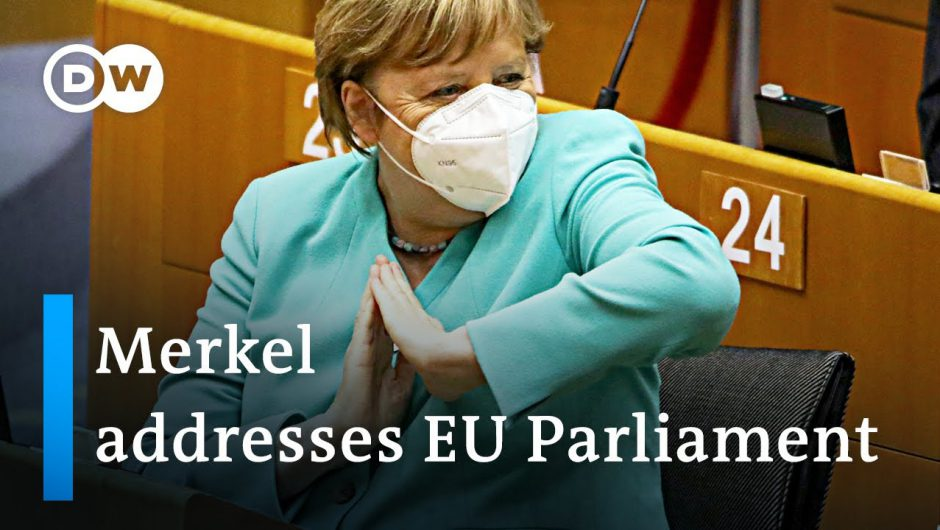 Angela Merkel lays out vision to unify European Union in parliamentary address | DW News