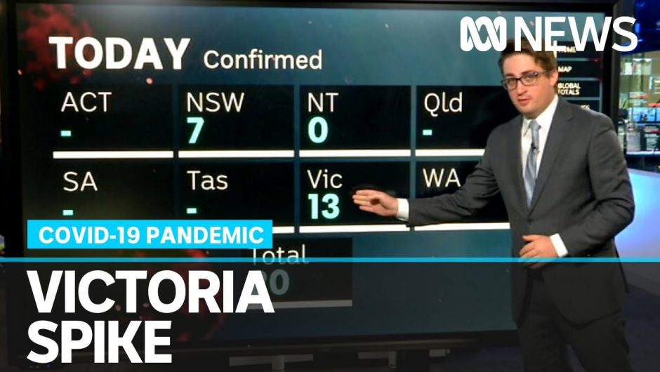 Coronavirus update: Victoria struggles with 13 new cases | ABC News