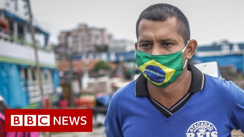 Coronavirus: Brazil records third-highest Covid-19 infection level – BBC News