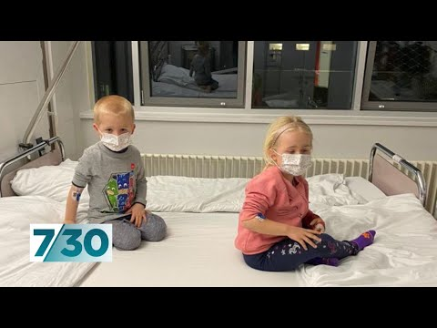 What it's like when both your children come down with coronavirus | 7.30