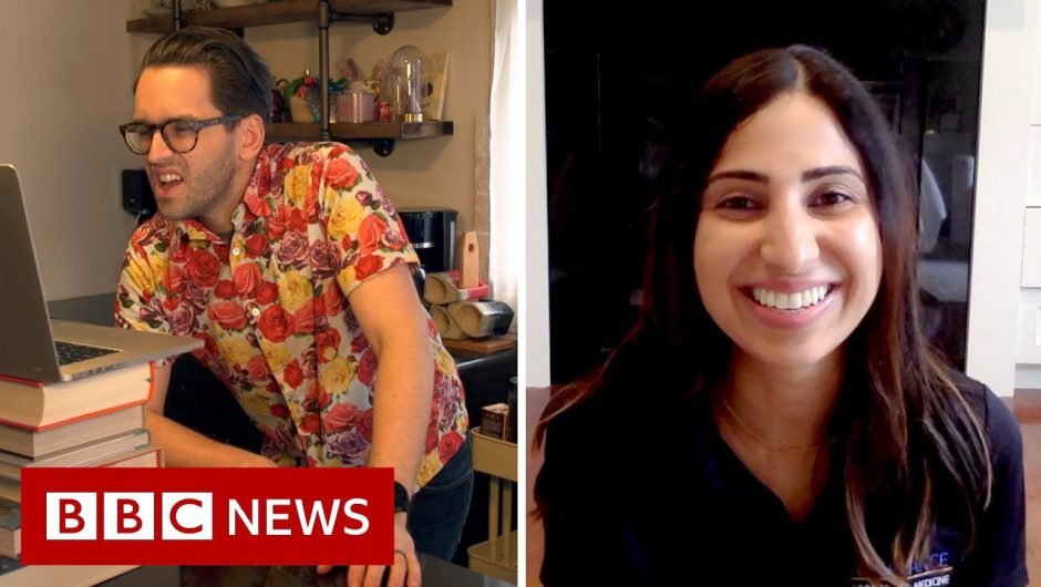 Coronavirus: How to combat back pain while working from home – BBC News