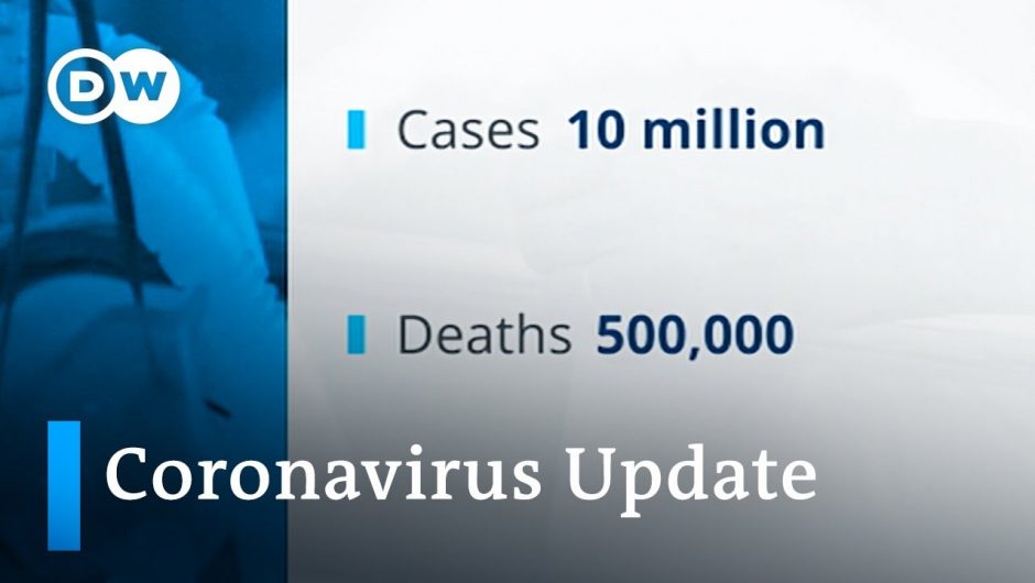 Infections spike in the US +++ Walk-through testing center at Frankfurt Airport | Coronavirus Update