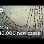 Trump silent as US coronavirus cases soar to new high | DW News