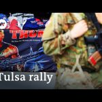 Thousands gather for Trump rally in Tulsa, Oklahoma | DW News