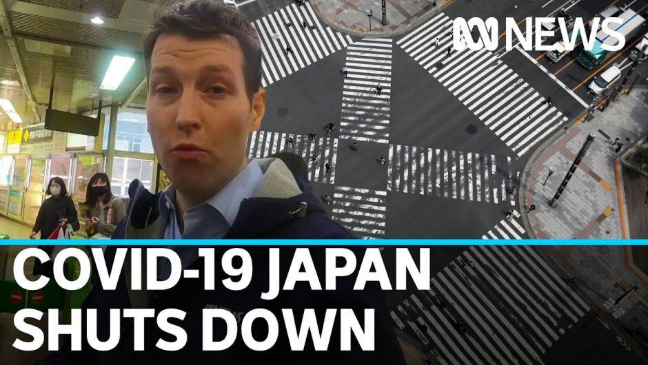 Japan ramps up coronavirus lockdown measures amid outbreak concerns in Tokyo | ABC News