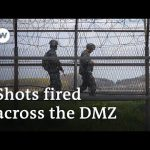 North and South Korea exchange gunfire across demilitarized zone | DW News