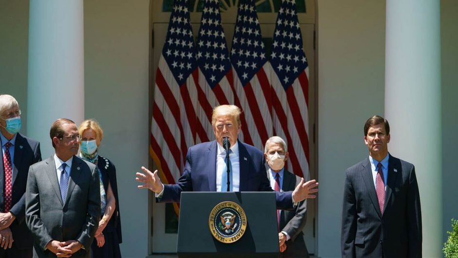 White House readies new message for the nation on coronavirus