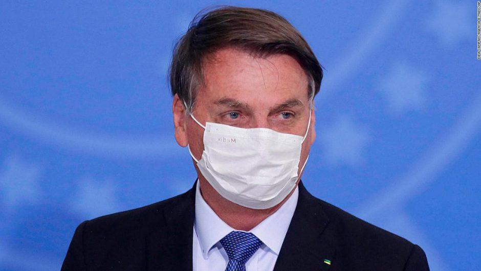 Jair Bolsonaro, Brazil's President, tests positive for coronavirus