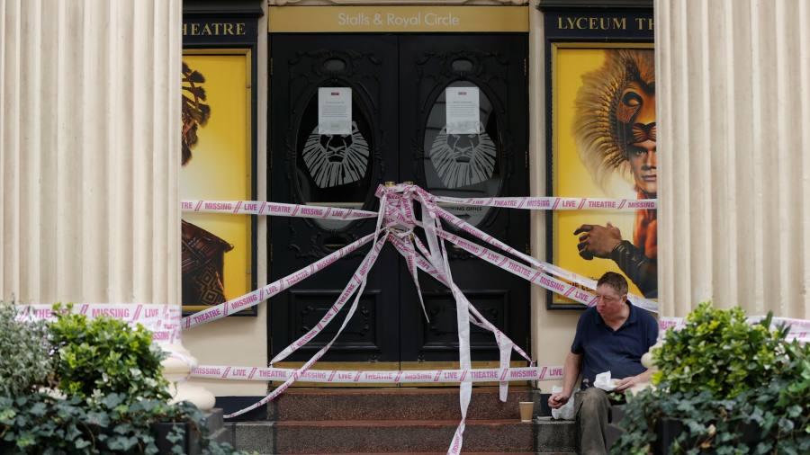 Coronavirus latest: UK arts industry welcomes £1.5bn 'better than expected' lifeline