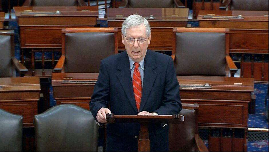 McConnell unveils 'HEALS Act,' the GOP coronavirus stimulus proposal