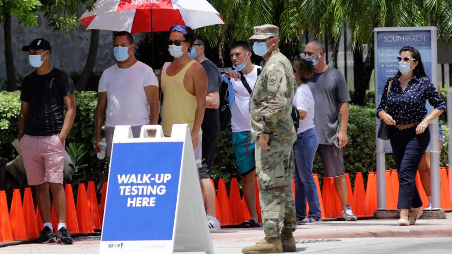 Coronavirus latest: Florida reports more than 9,000 new cases