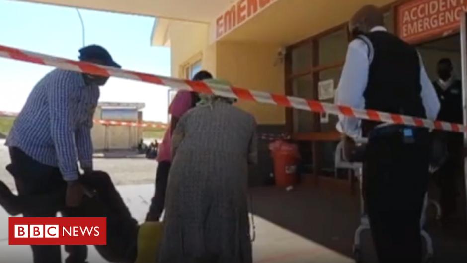 Coronavirus in South Africa: Inside Port Elizabeth's 'hospitals of horrors'