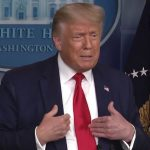 Coronavirus: Trump defends hydroxychloroquine again