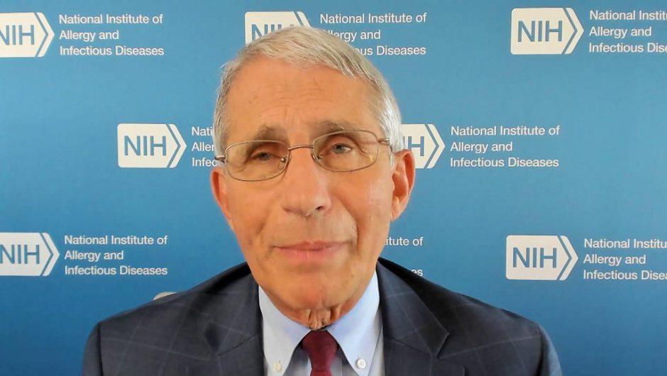 Coronavirus: Trump's signals 'not helpful', says Fauci