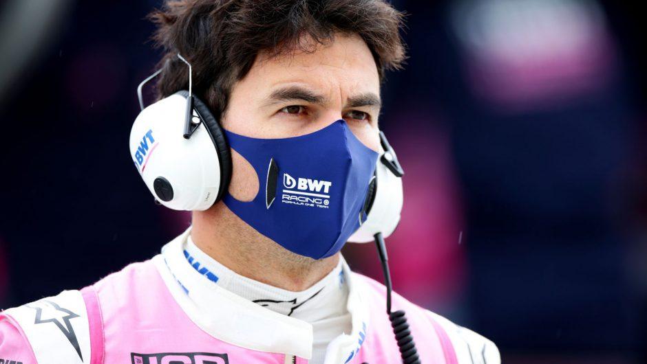 Sergio Perez tests positive for coronavirus and misses British GP