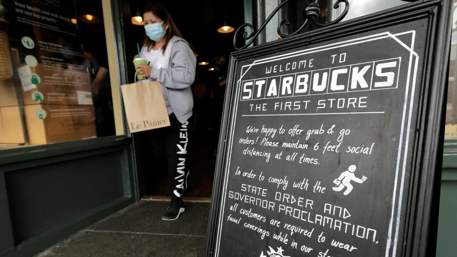 Coronavirus latest: Starbucks to require masks after rise in US cases