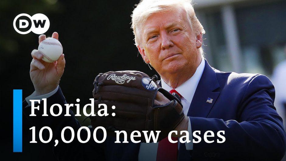 Trump cancels GOP convention in Florida citing coronavirus | DW News