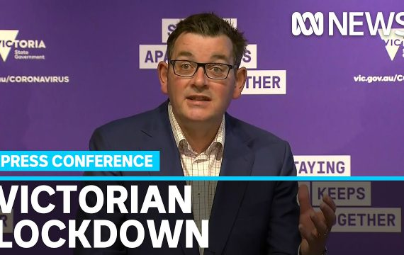 Vic. Premier says lockdown will return as state struggles to contain coronavirus outbreak   ABC News