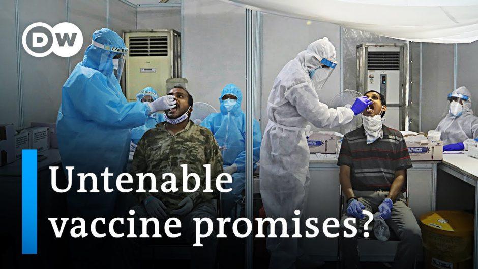 Covid-19 vaccine development sparks political controversy in India | Coronavirus update