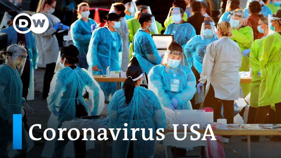 Coronavirus USA: Public anger grows as deaths top 140,000 | DW News