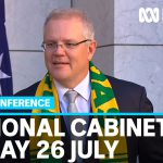 Morrison says Australia remains 'on track' despite Victoria coronavirus spike | ABC News