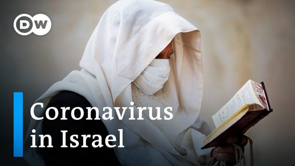 Israel's Bnei Brak a coronavirus hotspot for ultraorthodox Jews | DW News